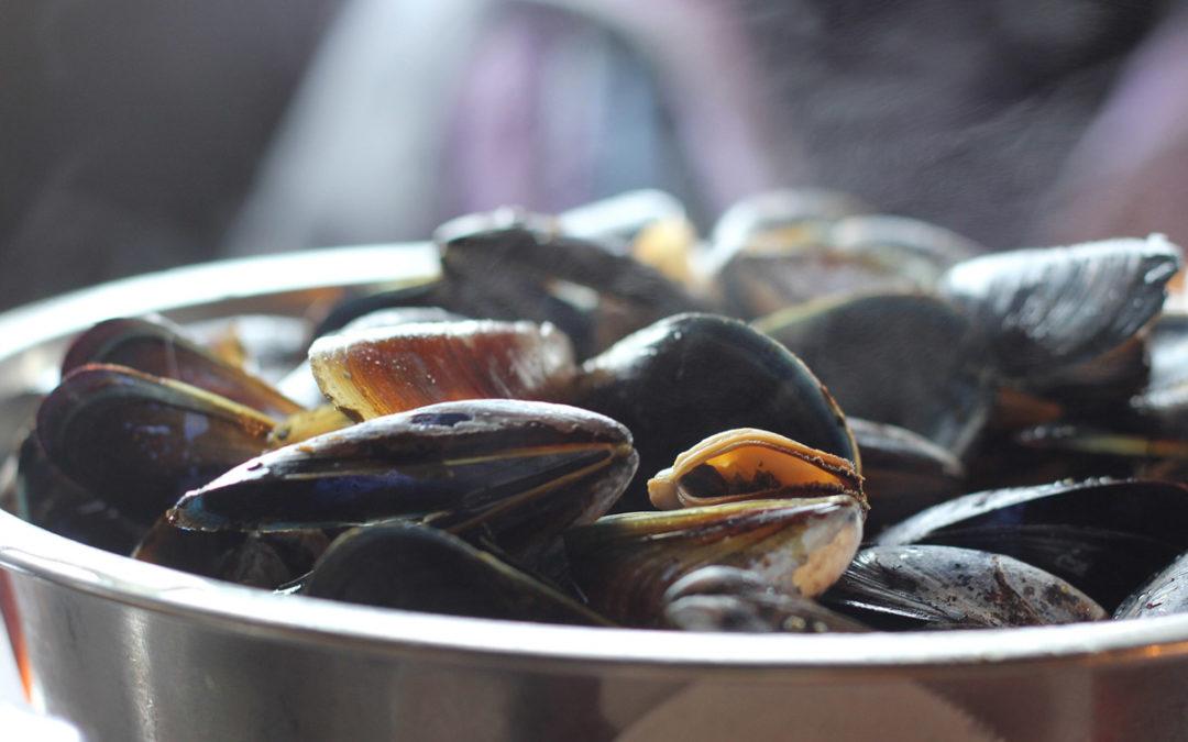 Recette moule marinière au vin blanc à la Normande